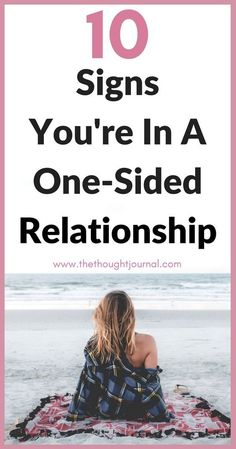 10 Obvious Signs You're In A One-Sided Relationship. One sided relationships are tough and can cause many relationship problems for couples. This is the best relationship advice if your relationship is one sided and signs to watch out for. Distant Relationship, Relationship Advice Quotes, Healthy Relationship Tips, Relationship Struggles, Marriage Relationship, Happy Relationships, Relationship Issues, Happy Marriage, Marriage Advice