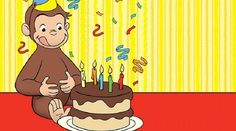 Find free Curious George favors for your birthday party including bookmarks and coloring pages. Find more Curious George party ideas on PBS Parents. Curious George Invitations, Curious George Cakes, Curious George Party, Curious George Birthday, Kids Birthday Party Invitations, Birthday Invitation Templates, Birthday Party Decorations, Birthday Parties, Party Favors