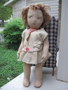 Lenci TLC - one of the earliest Lenci children, found UNDER THE LILACS on Ruby Lane : http://www.rubylane.com/shop/underthelilacs