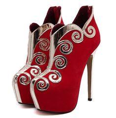33.11$  Buy now - https://alitems.com/g/1e8d114494b01f4c715516525dc3e8/?i=5&ulp=https%3A%2F%2Fwww.aliexpress.com%2Fitem%2FSize-4-9-Sexy-Red-Winter-Ankle-Boots-High-Heels-Platform-Zipper-Women-Shoes-Women-Boots%2F32735882987.html - Size 4~9 Sexy Red Winter Ankle Boots High Heels Platform Zipper Women Shoes Women Boots botas mujer (Check Foot Length) 33.11$