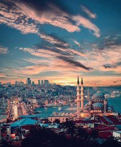 Beautiful Istanbul 😍 By ♥️ By the way, can you solve the riddle (swipe) People usually get it wrong! Istanbul City, Istanbul Travel, Beautiful Places To Travel, Wonderful Places, Turkey Destinations, Beautiful Mosques, Hagia Sophia, Turkey Travel, Dream City