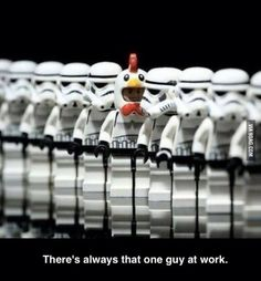 Lego Star Wars - Stormtrooper - That one Guy.