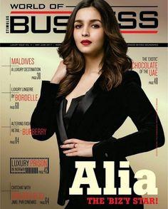 Alia Bhatt goes all bossy in latest World Of Business magazine cover - Magazine Cover Brand Magazine, Business Magazine, Vogue Magazine, Bollywood Stars, Bollywood Fashion, Bollywood Actress, Alia Bhatt Photoshoot, Aalia Bhatt