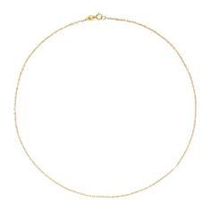 Złoty łańcuszek Tous 40 cm