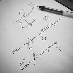 Idéias disponíveis pra tattoos   Agendamento: ricksilva1504@gmail.com .  #tattoodesign #tattooinspiration #tattooinkspiration #tattooforgirls #tatuagenscaligraficas #anchortattoo #draw #tattoodraw #tattooist #tattooart #tattoo2me #tatuagensfemininas #eunotatuagensfemininas #tatuagensdelicadas #quotetattoos #tattoscute #tattoosfofas