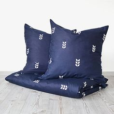 220x240 Finch Bed Linen - Navy by HAWKE & THORN #MONOQI