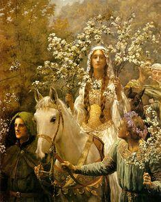 John Maler Collier (27 janvier 1850 à Londres – 11 avril 1934) était un écrivain et artiste-peintre britannique préraphaélite