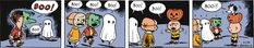 Peanuts Begins Halloween Comic