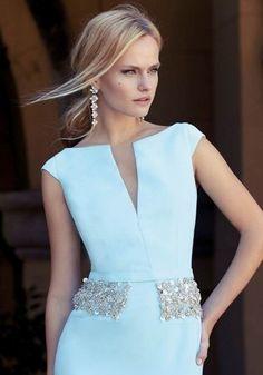 photo of ladies formal daywear design 18 detail by Carla Ruiz