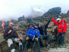 Private Expeditions trio prepare for their full moon summit!  www.privateexpeditions.com/blog