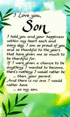 ~I Love You, My Son~