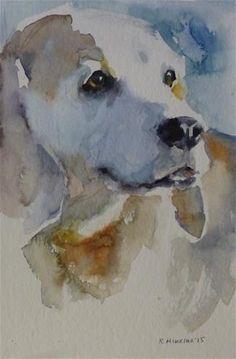 "Daily Paintworks - ""adopt114"" - Original Fine Art for Sale - © Katya Minkina"