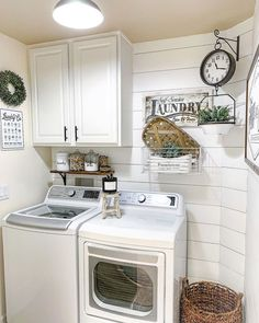 "Outstanding ""laundry room storage diy budget"" info is available on our web pages. Tiny Laundry Rooms, Laundry Room Remodel, Farmhouse Laundry Room, Laundry Room Organization, Organization Ideas, Laundry Closet, Laundry Decor, Laundry Room Design, Laundy Room"