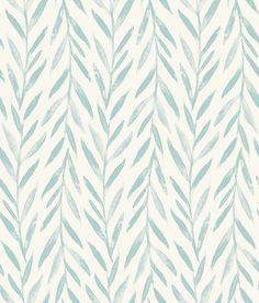 Willow Premium Peel and Stick Wallpaper - light Blue