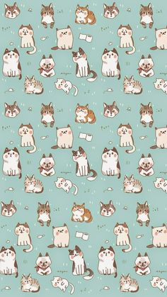 Collection Of cats art