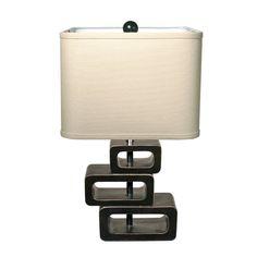 Orbit Exotic Retreat Table Lamp (Includes Cfl Bulb)
