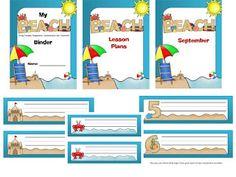 Diary of a Not So Wimpy Teacher: Beach Theme Classroom lables Classroom Lables, Classroom Themes, School Fun, School Teacher, Back To School, School Stuff, Ocean Themes, Beach Themes, Wimpy