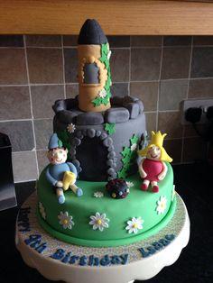 Ben & Holly's Little Kingdom cake