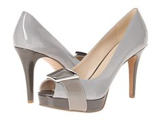 Nine West Cassilina Light Grey/Grey Synthetic - Zappos.com Free Shipping BOTH Ways