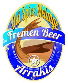 Fremen Beer Rrakis t-shirt designed by the Graphic Tide community - available now only £15.00