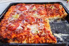 El lehet búcsúzni a pizzafutártól Winter Food, Pepperoni, Hamburger, Ale, Food Porn, Cooking, Kitchen, Street, Photography