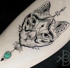 Another mad cat tattoo M Tattoos, Trendy Tattoos, Body Art Tattoos, Girl Tattoos, Sleeve Tattoos, Tattoos For Guys, Tattoos For Women Small, Small Tattoos, Pinguin Tattoo