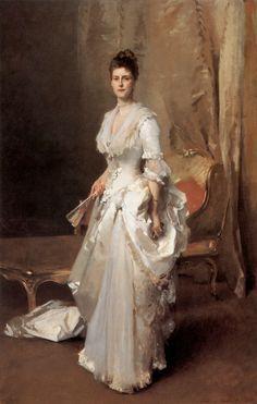 Madame Henry White  Par le peintre américain John Singer Sargent   1883  Huile sur toile  220,98 x 139,70 cm  Corcoran Gallery of Art, Washington