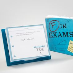 Get a daily dose of laughs (at some students' expense) with this calendar of exam failures.