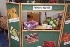 Farmers Market dramatic play