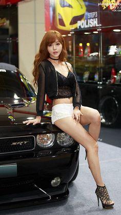 Blake Lovely, Micro Skirt, Car Girls, Asian Girl, Cool Girl, Mini Skirts, Punk, Legs, Kpop