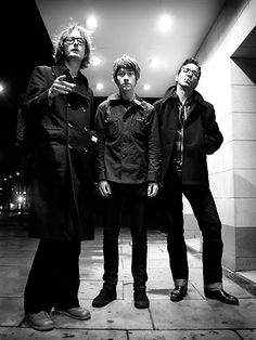 Jarvis Cocker, Alex Turner, and Richard Hawley