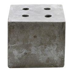 Bloomingville Bougeoir Avent, Ciment, Bloomingville