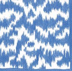 Caspari Modern Moire blue Paper Lunch Napkins Bulk 15951L Beverage Napkins, Cocktail Napkins, Caspari Napkins, Lemon Party, Blue Dinner Plates, Abstract Paper, Eco Friendly Fashion, Subtle Textures, Guest Towels