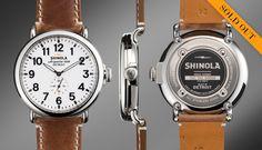 THE RUNWELL 47mm | Shinola®