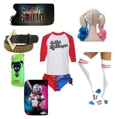 """""""Harley Quinn🎭🎰"""" by fleekytrends on Polyvore"""