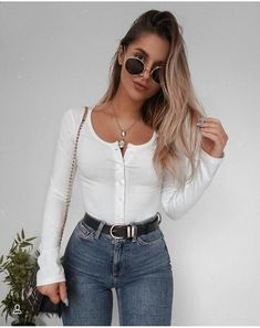 Find the most beautiful outfits for your summer look. Informations About schöne Sommeroutfits Pi Look Fashion, Teen Fashion, Fashion Outfits, Womens Fashion, Fashion Ideas, Casual Fashion Style, Latest Fashion, Fashion Trends, Travel Outfits