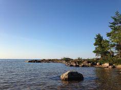 Vänern lake. Dalsland, Sweden.