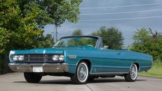 1967 Mercury S-55 convertible