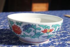 B8 Very Unique Attractive Oriental Dish Signed by CRAZYMARYSFINDS
