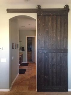 Barn Door - Master Bath
