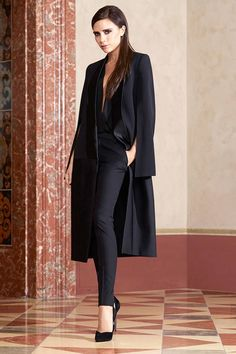 How Victoria Beckham Dresses for the Morning After