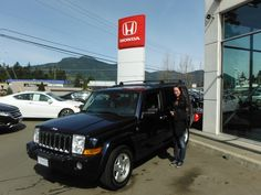 Congratulations on getting your new Jeep Christina. Have a great time in your new ride!