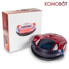 No more having to sit on their knees to clean under beds!  The collected dirt accumulates in the tank that is easy to open and clean (not needs replacing).No filters! KomoBot's smart vacuum cleaner robot that moves in a circle and pass the edge...