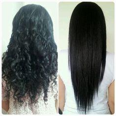 Hair Straightener Brush by LaetitiaHair