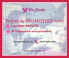 Promoțiile lunii decembrie. :)  www.drsaidac.ro