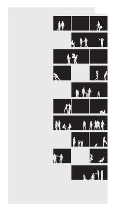 Nitsche Visual Projects: Empena Viva, São Paulo – Famous Last Words Architecture Graphics, Architecture Student, Architecture Drawings, Architecture Design, Architecture Visualization, Portfolio Covers, Portfolio Design, Portfolio Book, Portfolio Ideas