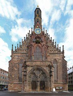 Igreja Frauenkirche - Nuremberg - Alemanha