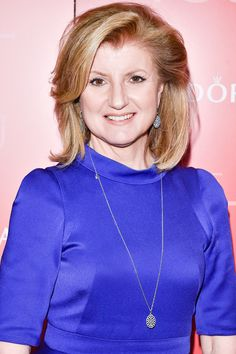 """Arianna Huffington, co-founder and editor-in-chief of The Huffington Post, is truly an inspiration and leader among women. She looks stunning wearing PANDORA Shimmering Lace necklace and earrings at the """"Unique Lives"""" event at Roy Thomson Hall in Toronto, Canada. #PANDORAsponsors"""