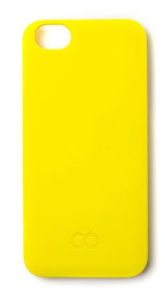 This C6 iPhone 5 case in Sunshine Yellow precisely follows the contours of your iPhone offering minimum styling with unparalleled protection. http://www.zocko.com/z/JF6FU