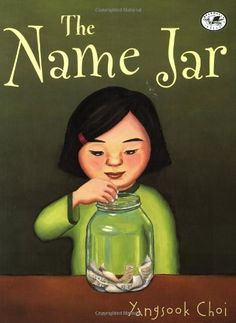 Having just moved from Korea, Unhei is anxious that American kids will like her. So instead of introducing herself on the first day of school, she tells the class that she will choose a name by the following week. Her new classmates are fascinated by this no-name girl and decide to help out by filling a glass jar with names for her to pick from.  On the day of her name choosing, the name jar has mysteriously disappeared.